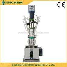 2l small teflon reactor with glass lined tank