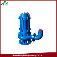 High Quality ZHONGDA Brand WQ Series Energy-saving Low Pressure Submersible Sewage Pump