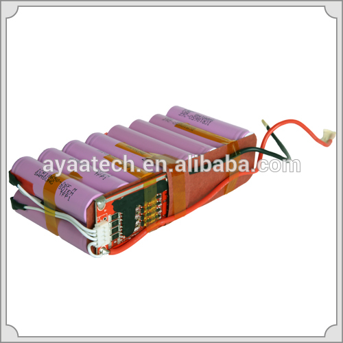4S4P 14.8V/10.4Ah Li-ion battery pack for portable oxygen generator