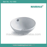 Hotel Building Chinese Porcelain ceramic white mini small round lavabo