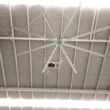 Shanghai 6.1m Industrial Air Cool hvls industrial Ceiling Fan factory