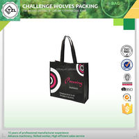 Non woven shopping bag folding shopping bag with wheels