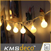 50L garland christmas lights, small berry lights, warm white LED