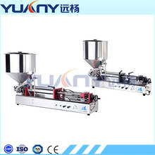 Semi-auto Pneumatic Hand Washing Liquid Soap Hair Conditioner Cosmetics Filling Machine