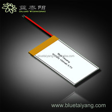 401235 3.7v lipo 130mah polymer rechargeable battery