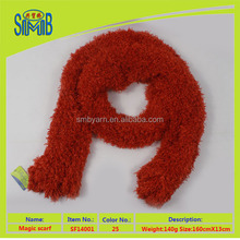 shanghai smb fashionable neckwear shawls factory hot wholesale oeko tex quality 100 polyester knitted magic scarf