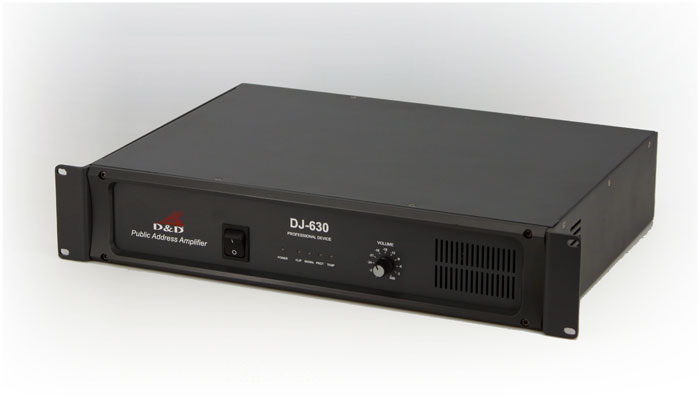 DJ-630 100W public address power amplifier