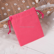 Factory sale small non-woven drawstring bags