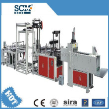 SCM plastic carry bag making machine with paper, plastic, non woven