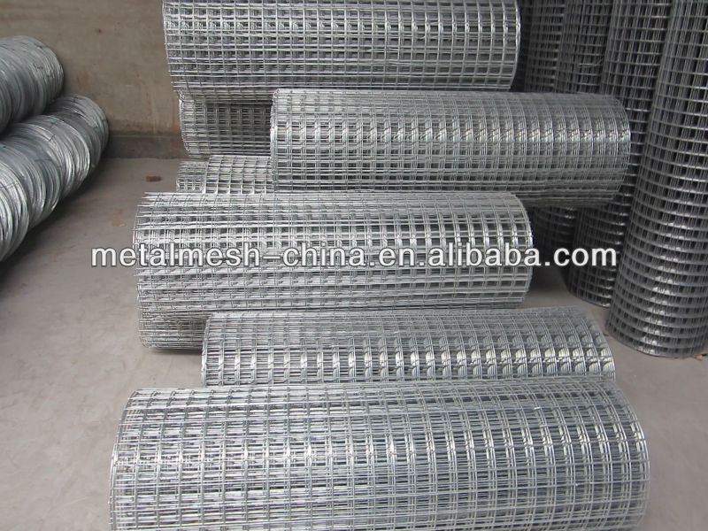 Galvanized Welded Wire Mesh/wrought iron fencing