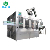 Small scale glass bottle carbonated beverage rinsing filling capping machine price
