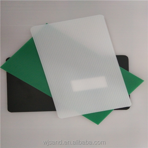 high quality colorful 2mm to 12mm plastic baking sheet in China