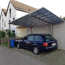 Strong and Durable polycarbonate aluminum car parking canopy