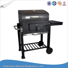 Square Side Table Heavy Duty BBQ Grill Outdoor Charcoal Barbecue