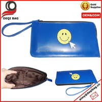 Happy Every Day Imitation Leather Lady Clutch Purse