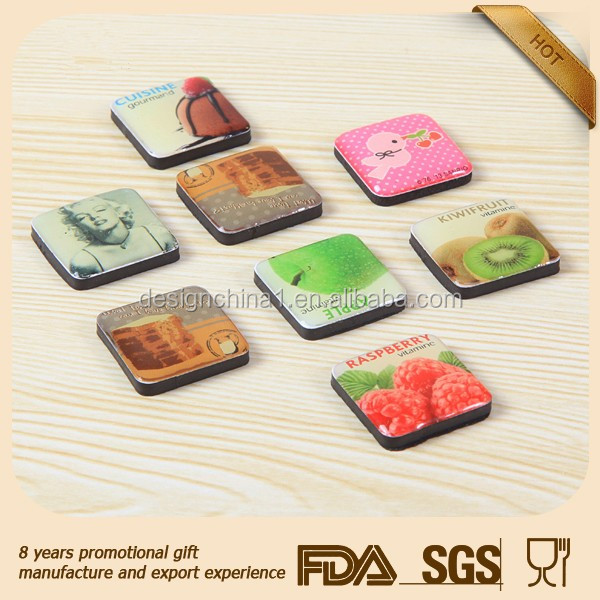 Hunan ,China Eco-Friendly souvenir fridge magnet,3d resin fridge magnet