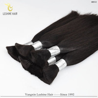 Hot Sell Good Feedback Best Quality No Chemical Full Cuticle No Tangle chinese remy virgin hair bulk