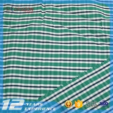 colorful check/plaid fabric,big check fabric,fabric for shirts with SGS certificate