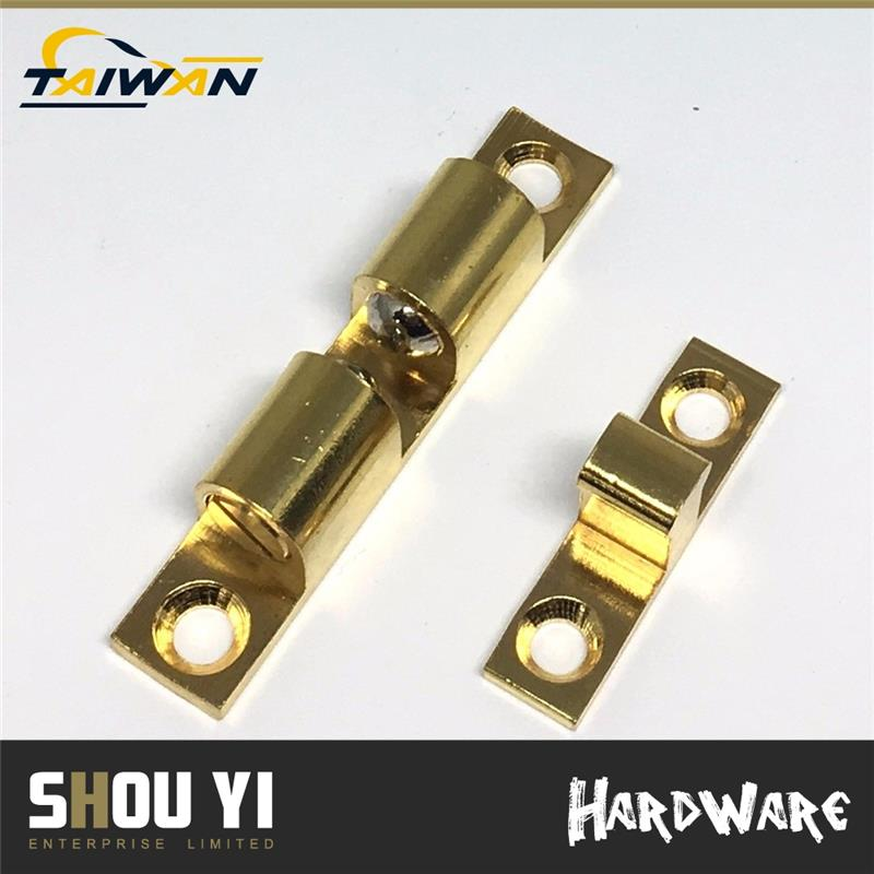 Brass Plated Brass flush bolt door floor types of door bolts