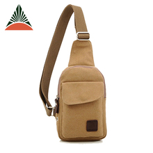 China Factory Custom Men's Canvas Sing Bag