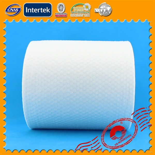 spunlace nonwoven fabric in roll for disposable towels spunlace