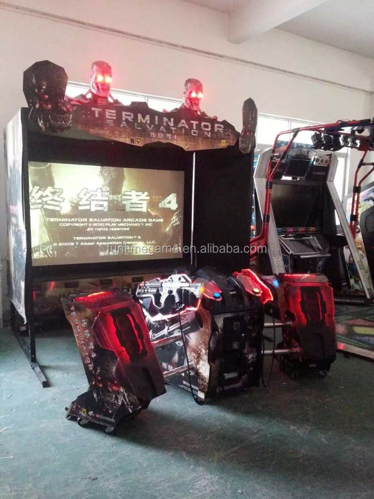 gun simulator shooting game machine / Terminator salvation arcade machine