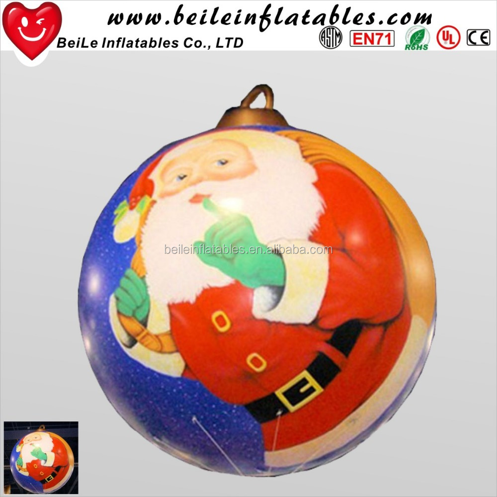 Wholesale Pvc Inflatable Christmas Ball Ornaments