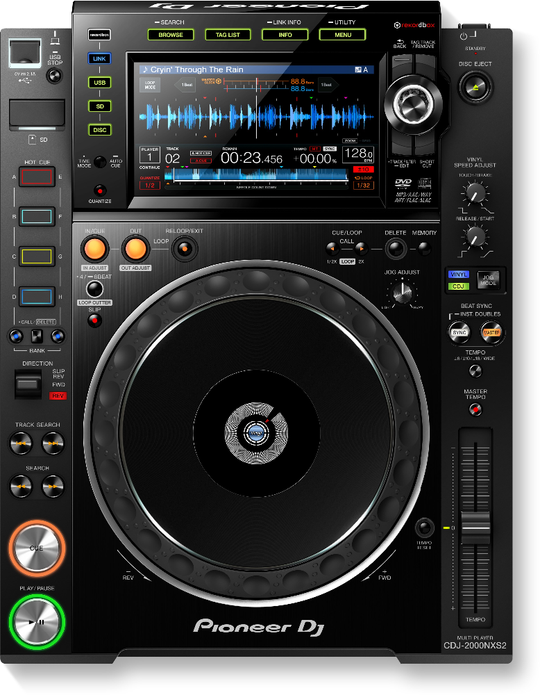 Original Pioneer DJ Player CDJ-2000NXS2