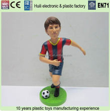 Messi Football Player Plastic Figure, Footballer Plastic Figure, Plastic Football Figure For Promotion
