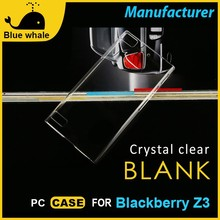 For Blackberry Z3 Cases And Covers, Cell Phone Plastic Cover For Blackberry Z3, 3D Sublimation Case For Blackberry Z3