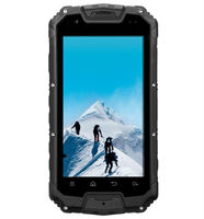 4.5inch IP68 waterproof mtk6589 quad core NFC Optional Snowpow M8 rugged phone with walkie talkie/ptt