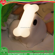 3D dog shape LED night light