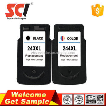 Hot for canon PG243XL CL244XL ink cartridge compatible for canon MG2522 MG2920 MG2922 Printer