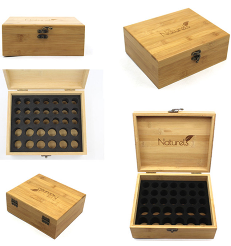 Essential Oil Storage Box Made From Sustainable Quality Bambo