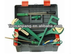 Non sparking tools kit, tools set