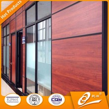 Great Design Of Office Glass Partition Wall In Aluminium Profile