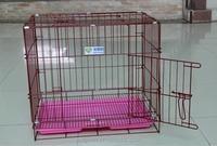 2017 hot sale modern foldable metal dog house/dog crate wholesale/dog cage
