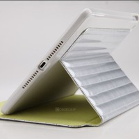 promotional price newest design stand leather case for Ipad air 2014 new products