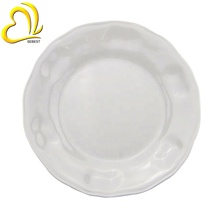 High Quality Hotel Used Melamine White 11&quot; <strong>Flat</strong> Plate