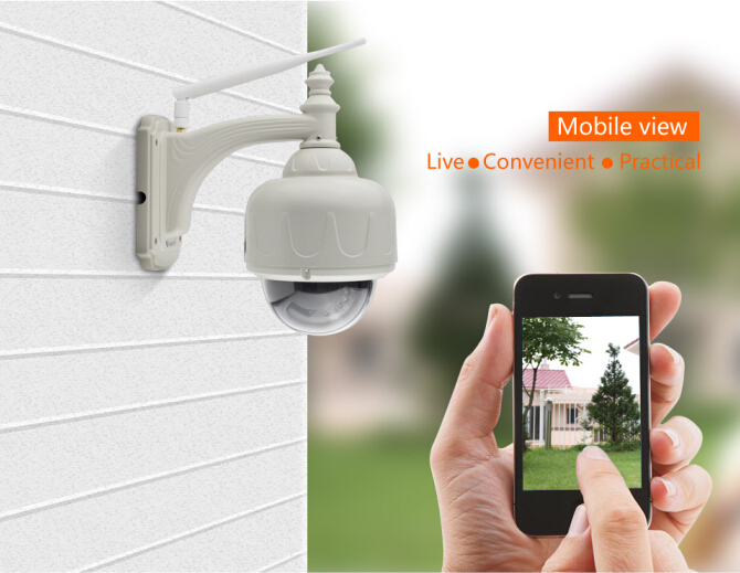 Trade Assurance Supplier ONVIF Waterproof 4X Zoom rotation camera ip