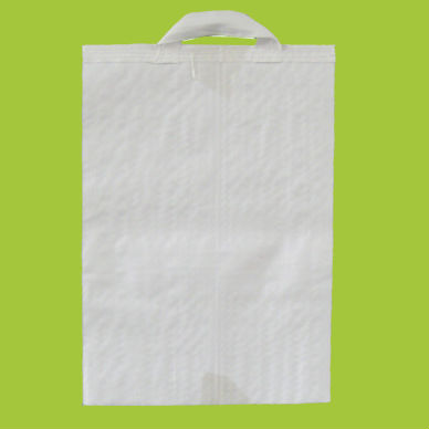 Newly white plasitc pp woven bag packaging rice corn grain seed 20kg