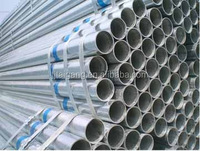 (TTG) HF ERW Steel Pipe HFW Hot Dipped Galvanized Welded MS Steel Round Tube Hollow Section ASTM A500 A53 Q195 Q215 Q235 Q345 II