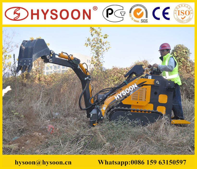 towable micro backhoe for sale