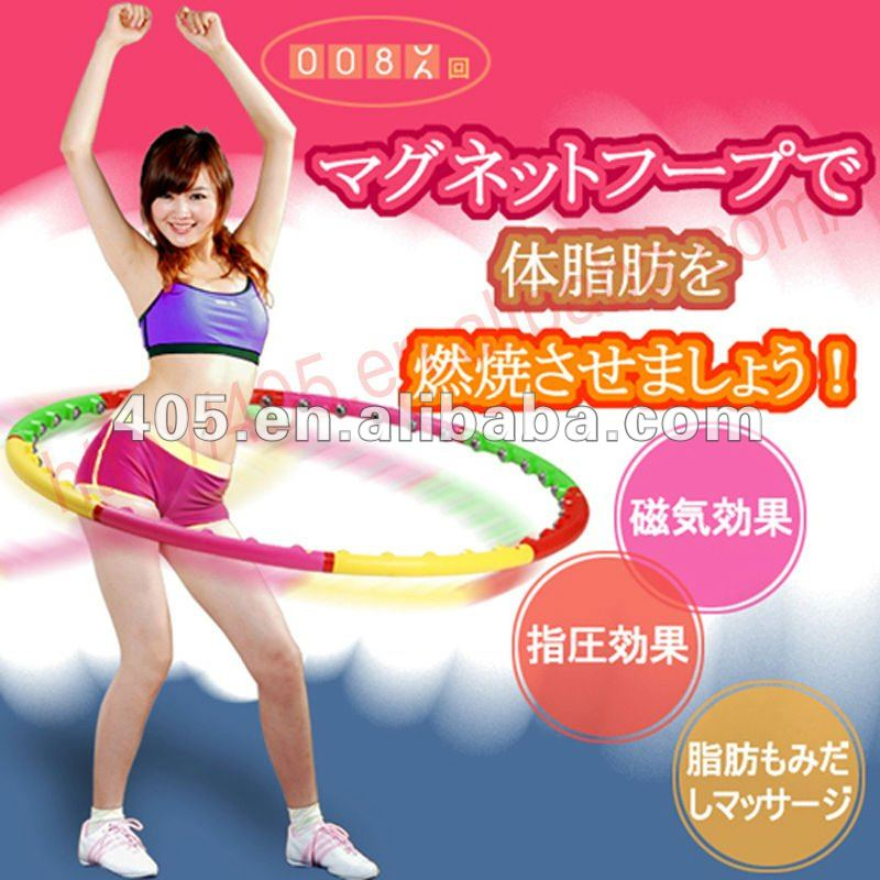 Beautiful healthy hula hoop for fitness sports equipment