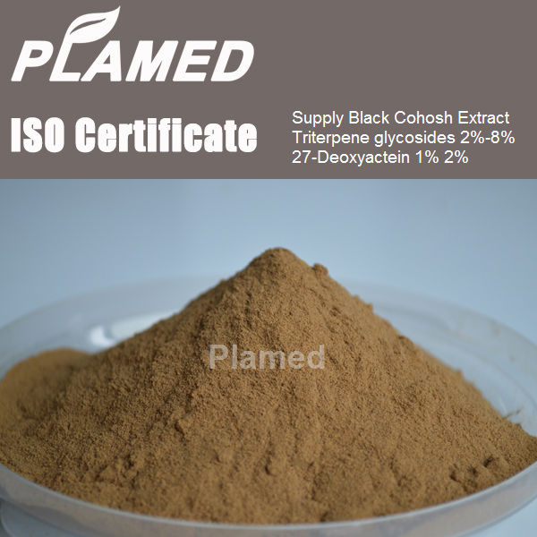 High quality black cohosh root extract powder supplement,top quality black cohosh root extract powder