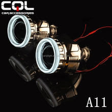 80MM 100MM 3D led angel eyes auto car,led devil eyes car,top quality car led light angel eyes