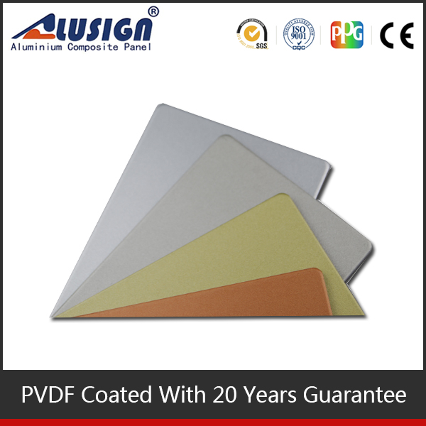 Alusign 2015 acp waterproof bathroom plastic wall siding panel what is composite board