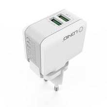 LDNIO 2 USB 5V-2.4A Quick Charge Universial USB Chargers Model:A2203