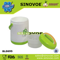 Portable Plastic Food Container With Separated Inner Box