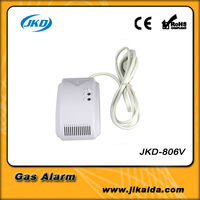 AC power supply LPG natural gas alarm security system low gas alarm system